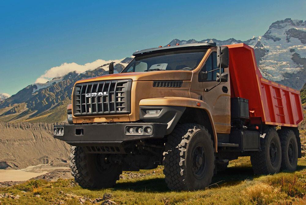 новый грузовик урал фото