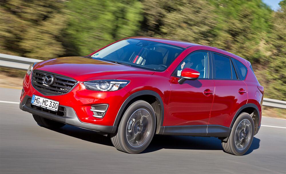 Новый кроссовер Mazda CX-5 получил вРоссии «ОТС»