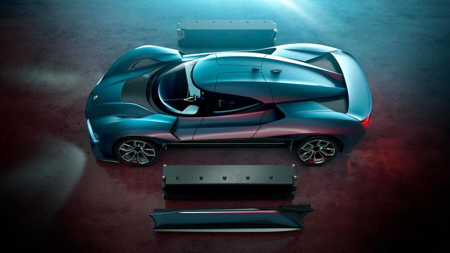 NextEV представила электрический гиперкар мощностью 1360 лошадиных сил