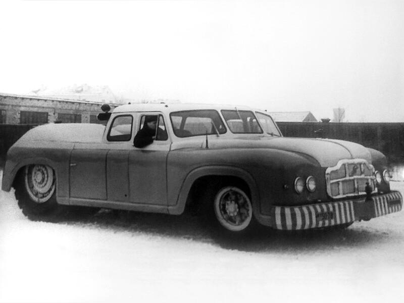 Когда-то давным-давно минские автозаводцы умели делать настоящие автомобили.....