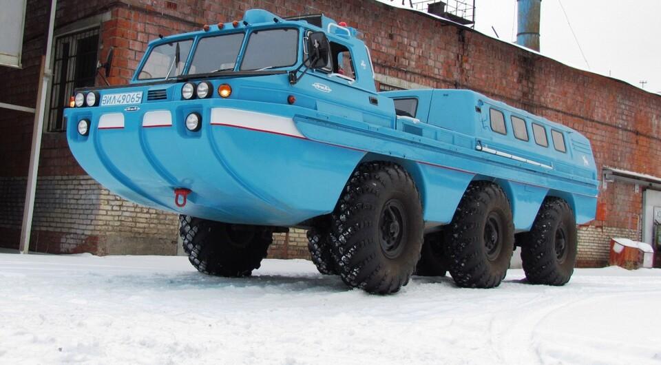 «Синяя птица» вернулась: в России возродили легендарный советский вездеход
