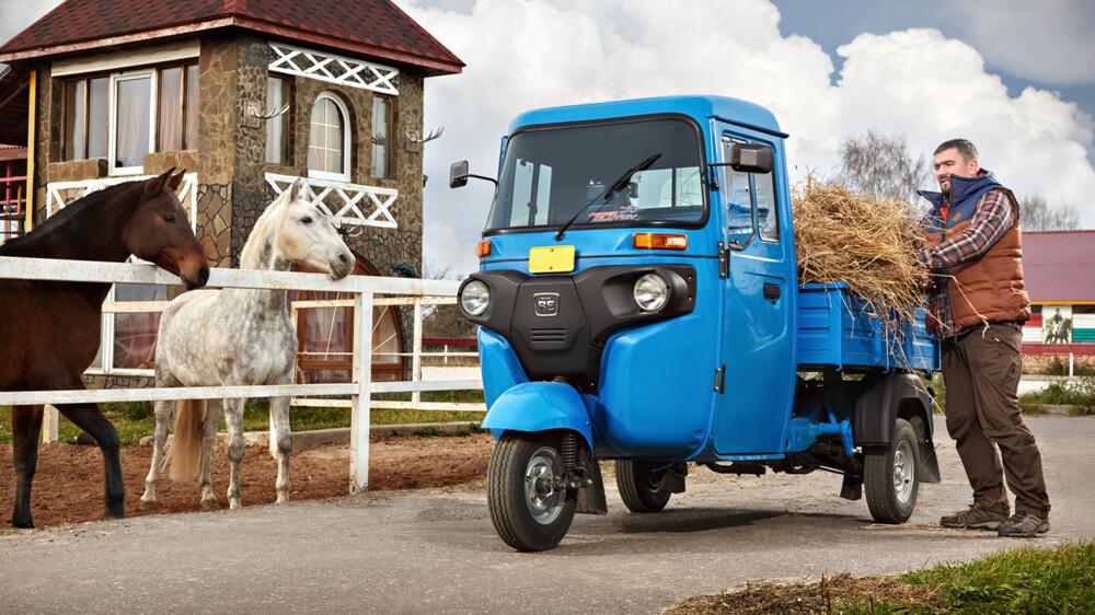 В РФ появится дизельный грузовичок за300 000 руб.