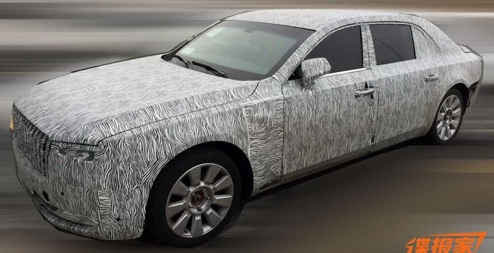 Новый люксовый автомобиль имеет намерение выпустить китайская компания Hongqi