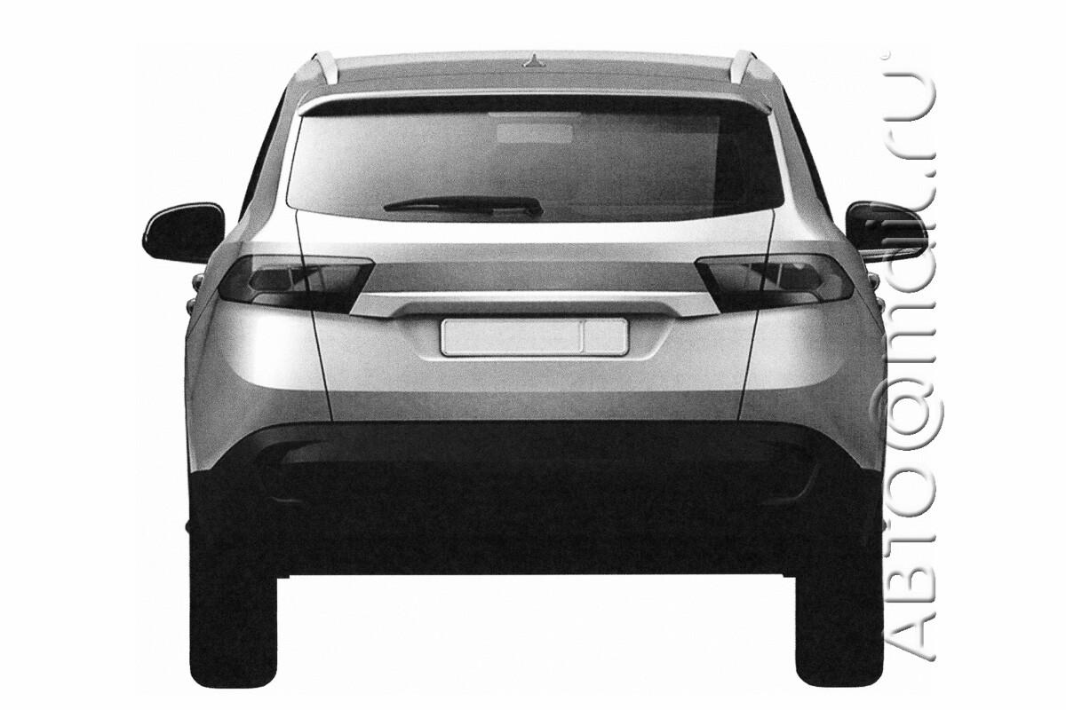 1-ый кроссовер отУАЗа. вweb-сети интернет появились иллюстрации нового автомобиля