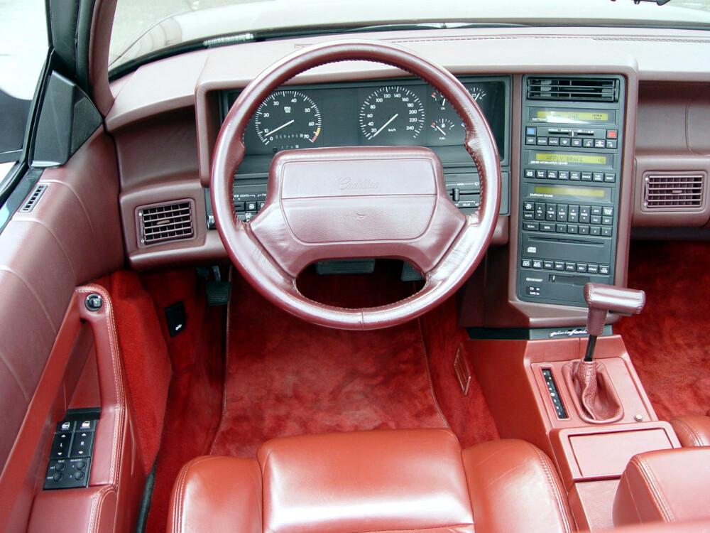 Новый кадилак 1993 года выставили на реализацию