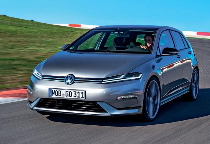 Винтернет выложили рендер хэтчбека VW Golf восьмого поколения