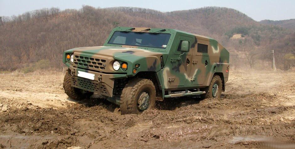 Армейский внедорожник Kia LTV