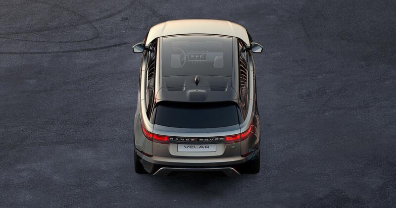 Опубликована первая фотография нового Range Rover Velar