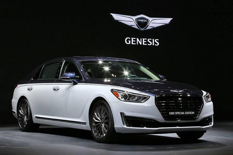 корейцы показали свой самый роскошный седан Mail авто
