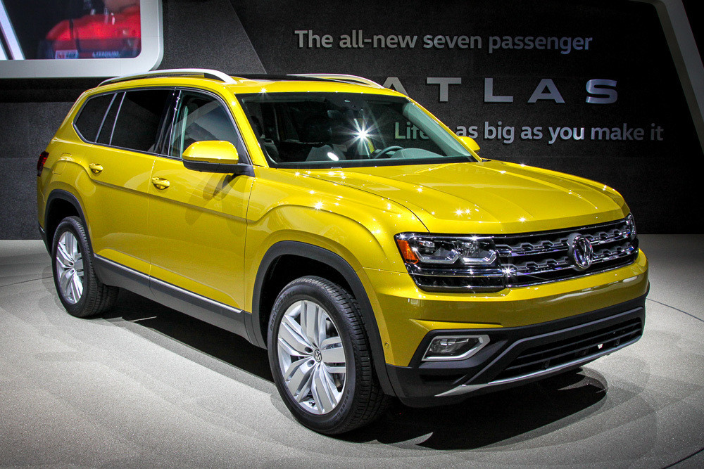 внедорожник Volkswagen Teramont