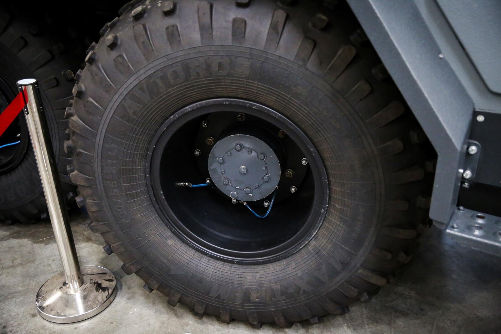 Внедорожник на шинах низкого давления своими руками