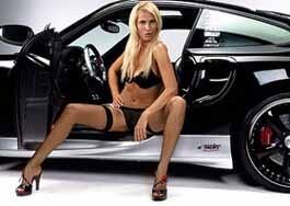 Заняться сексом в крутой машине