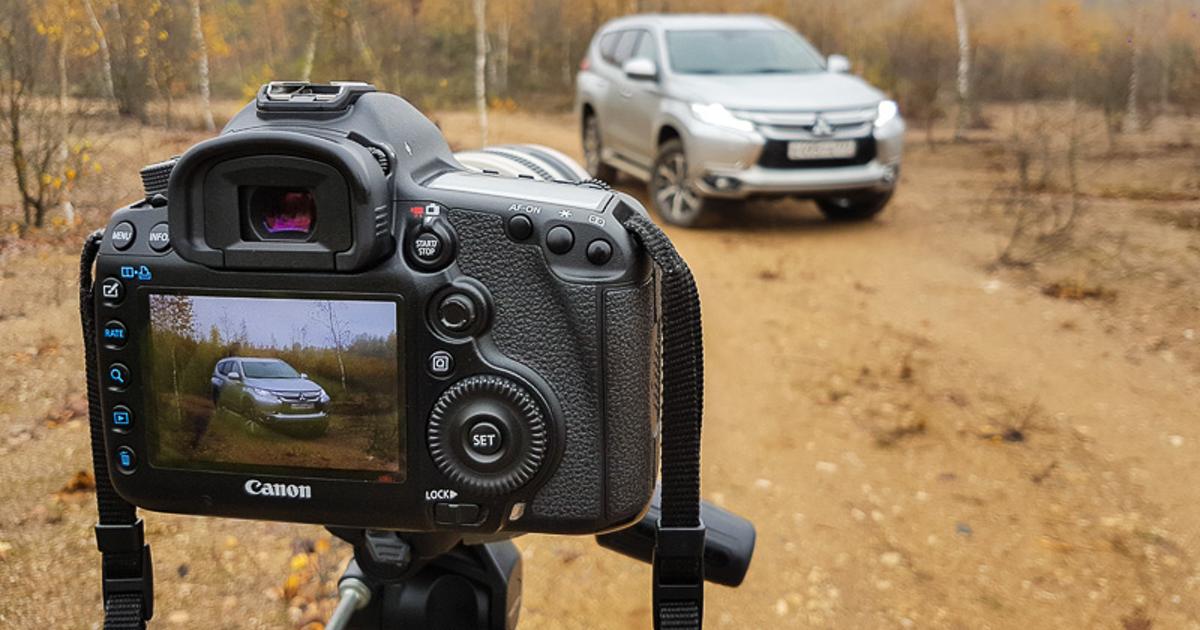 Как правильно сфотографировать машину