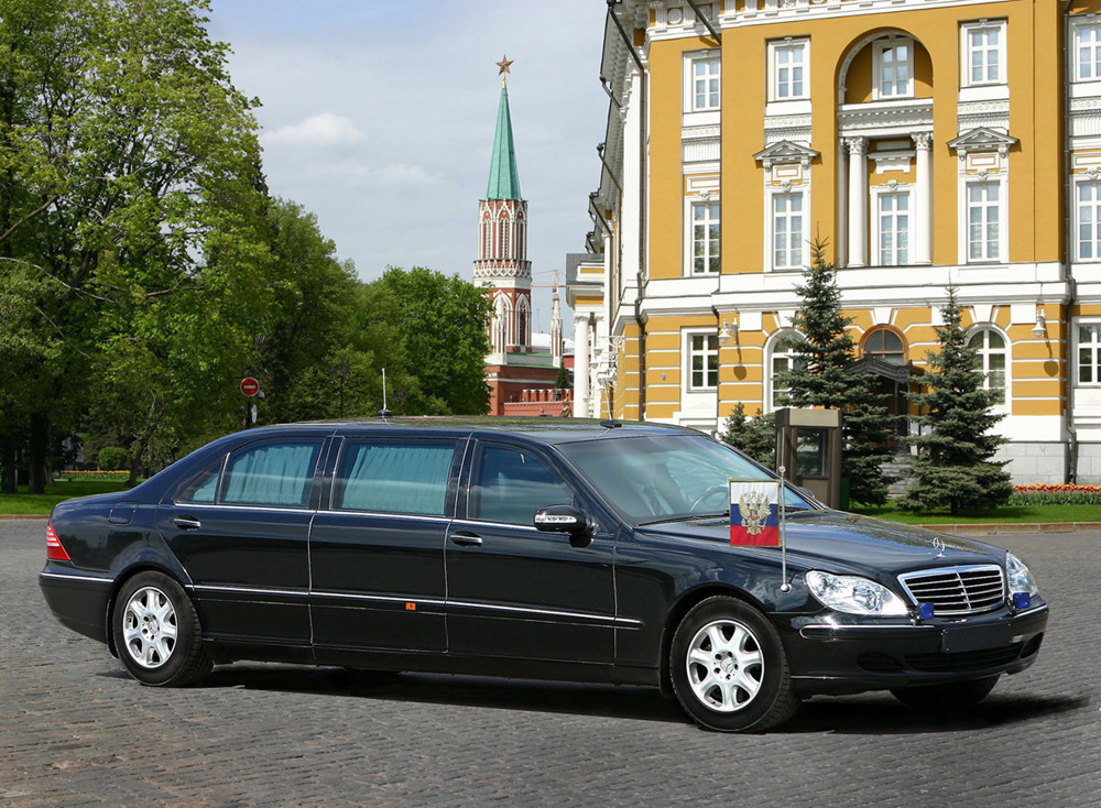 ВРосии выставили на реализацию бронелимузин В. Путина