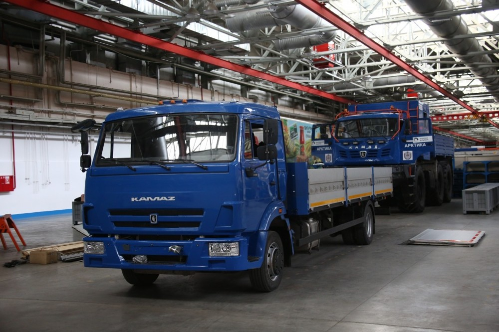 ВКамАЗе поведали опервом маршруте беспилотного грузового автомобиля