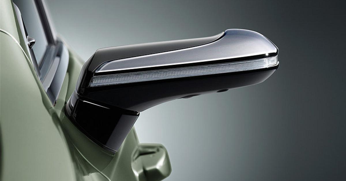 fpng - В «дорогой Camry от Lexus» не будет наружных зеркал