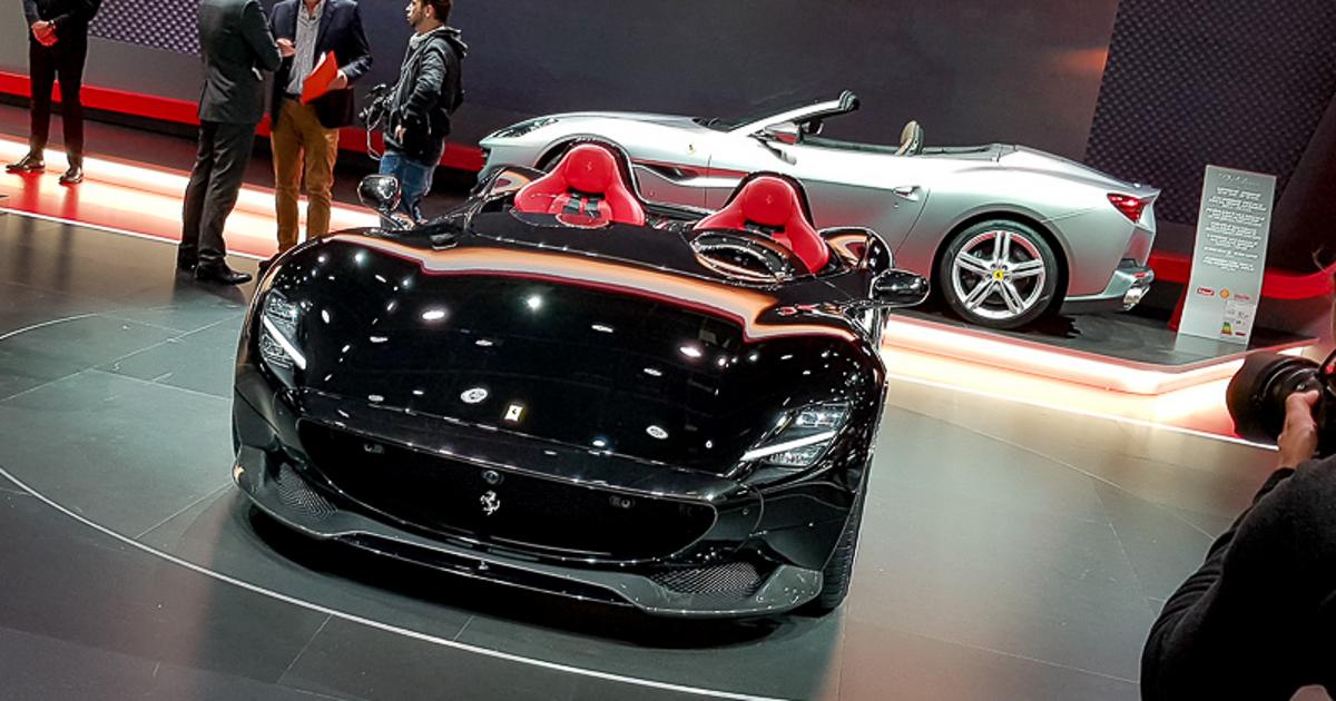 fpng - Ferrari в Париже — два невероятно крутых суперкара