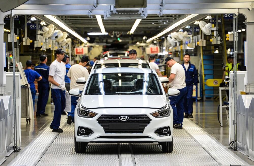 Хюндай начнет делать автомобили сроссийскими моторами