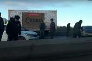 В Петербург пришел внезапный день жестянщика (фото и видео)