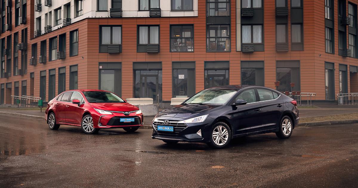No taxes, not cars that share: Hyundai Elantra or Toyota Corolla