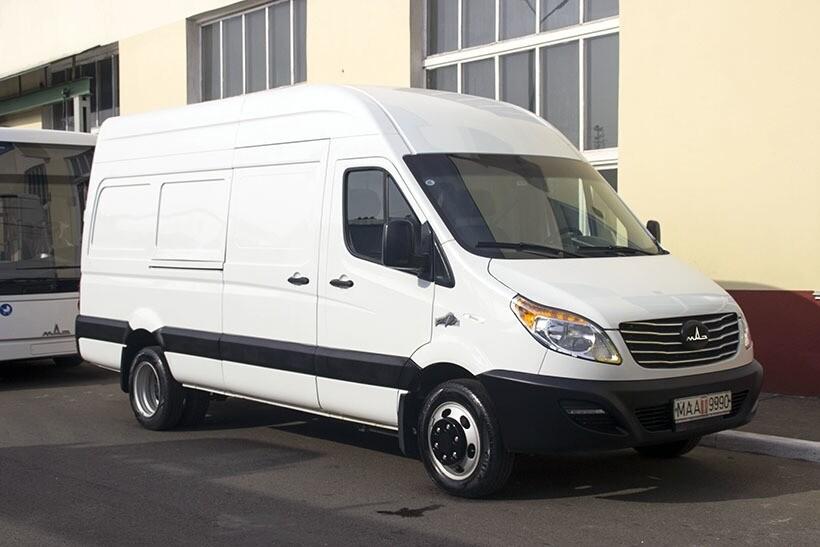 МАЗ анонсировал модель «МАЗ 281040», основного конкурента микроавтобуса «ГАЗель»