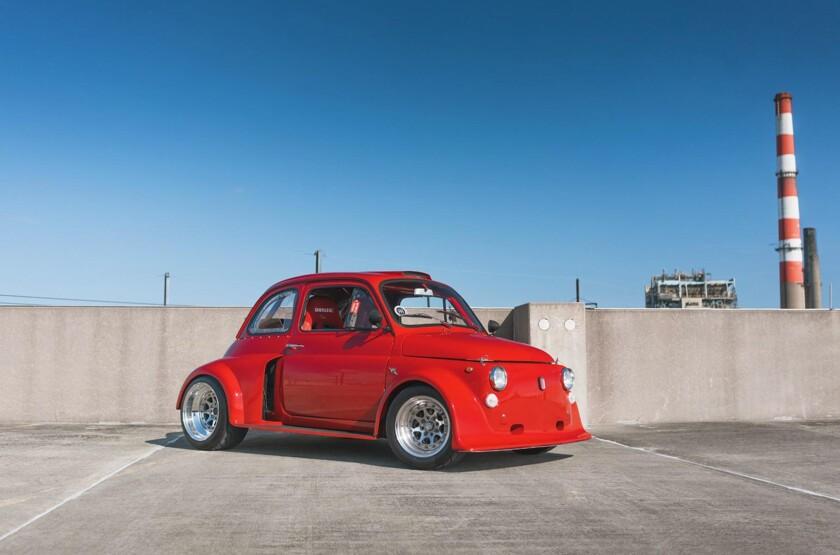 840x0 - На продажу выставили странный Fiat 500 с двигателем от Civic - автоновости
