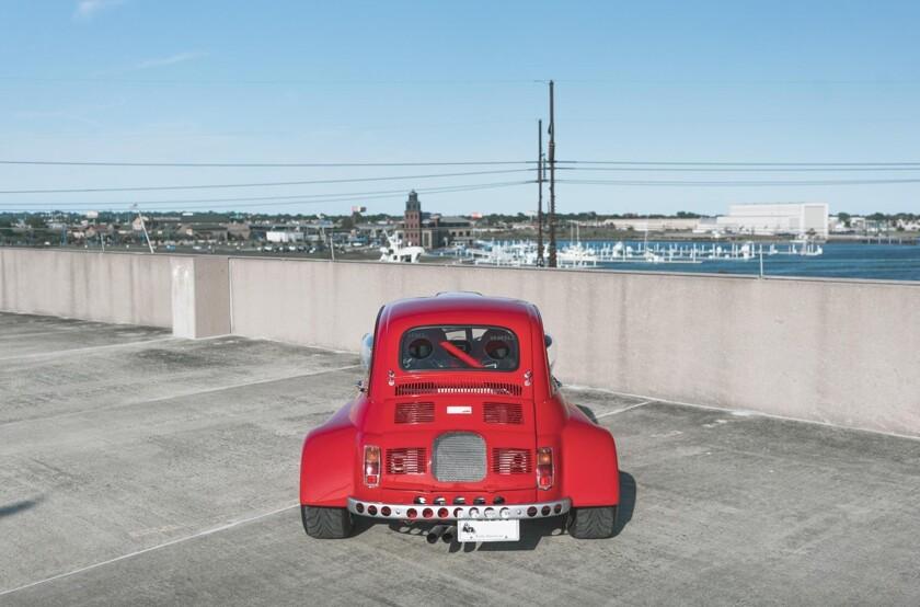 i - На продажу выставили странный Fiat 500 с двигателем от Civic - автоновости