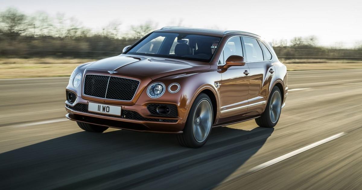 У Bentley Bentayga обнаружили проблему с ремнями безопасности - автоновости