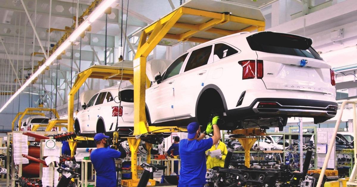 В России стартовало производство Kia Sorento - автоновости