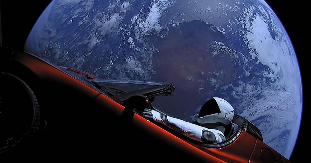 Автомобиль Илона Маска признали космическим мусором - автоновости