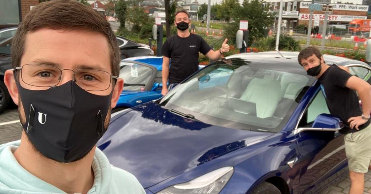 Гонщик попробует побить мировой рекорд на Tesla Model 3 - автоновости