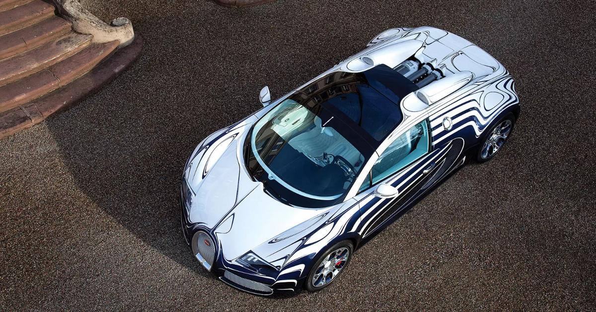 fpng - Уникальная Bugatti вылетела с трассы в драг-рейсинге (видео) - автоновости