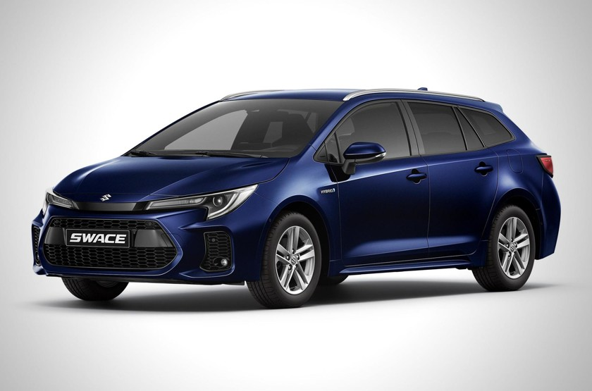 i - Универсал Toyota Corolla превратился в модель Suzuki Swace - автоновости