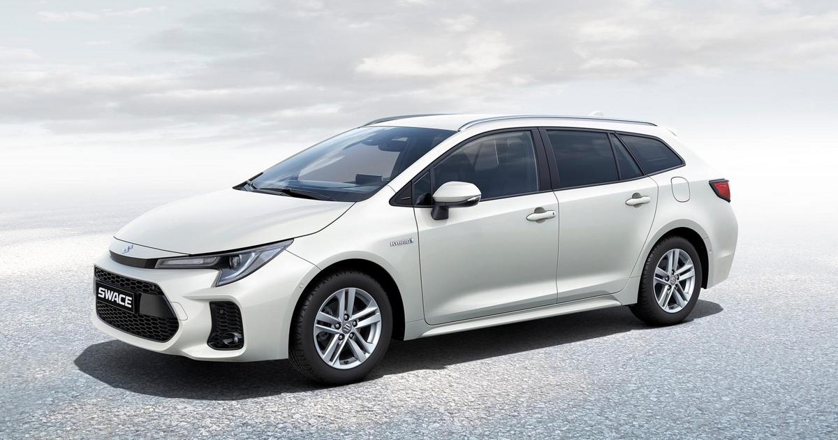 fpng - Универсал Toyota Corolla превратился в модель Suzuki Swace - автоновости