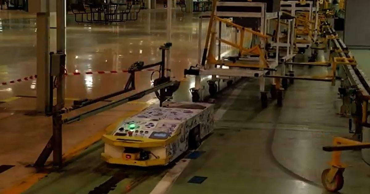 На заводе «АвтоВАЗа» внедрили самоуправляемые тележки - автоновости
