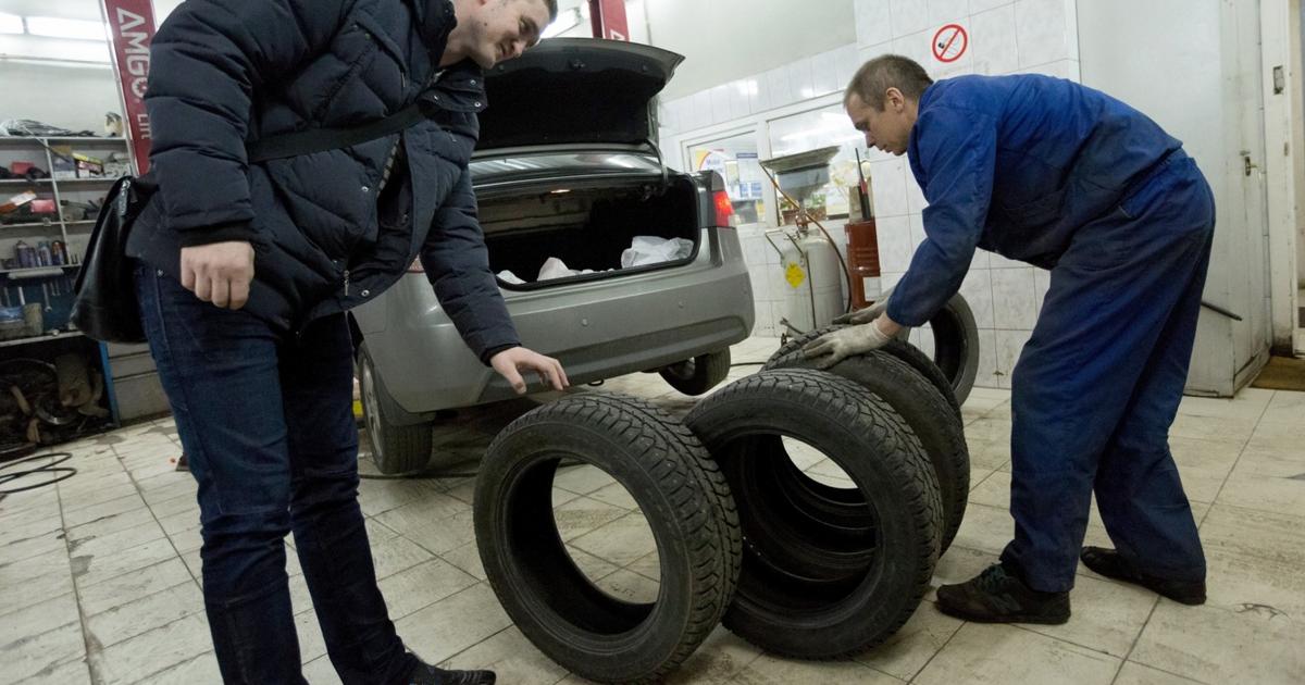 В России запретили продажу немаркированных шин - автоновости