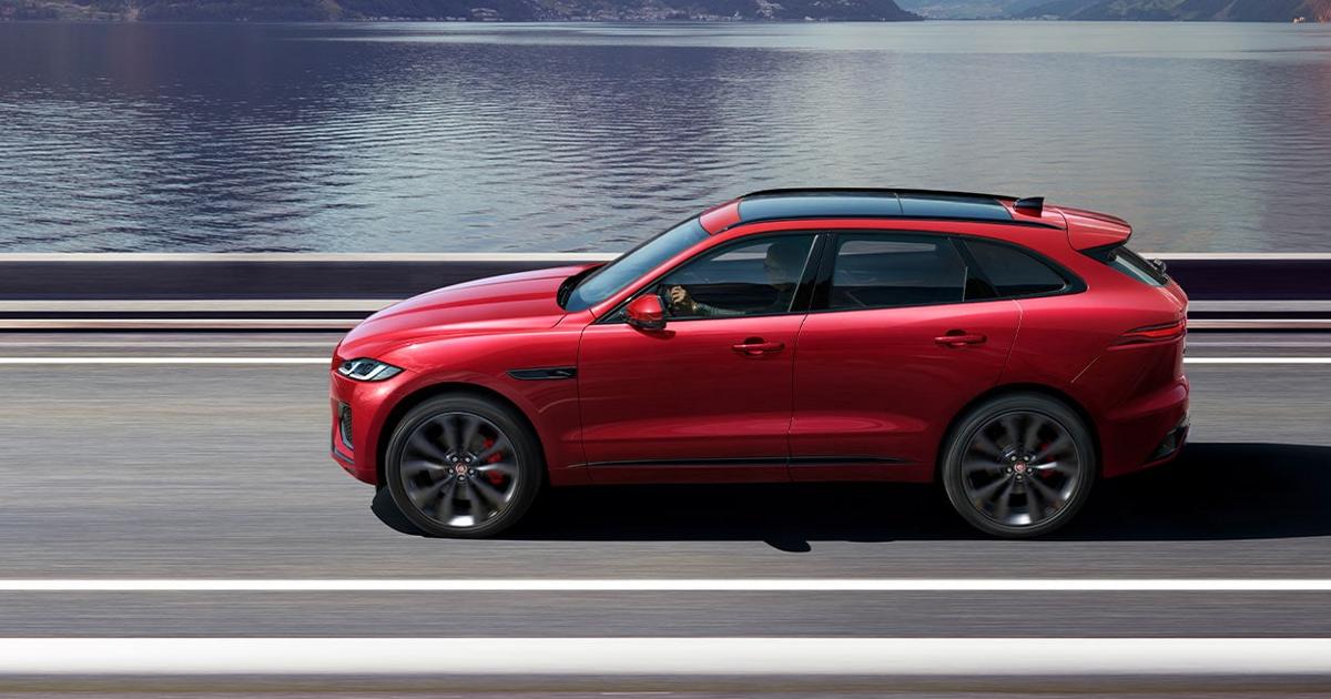 Стали известны цены Jaguar F-Pace 2021 модельного года - автоновости