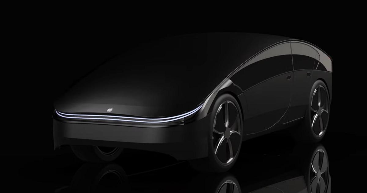 Каким получился бы автомобиль от Apple: виденье дизайнера - автоновости