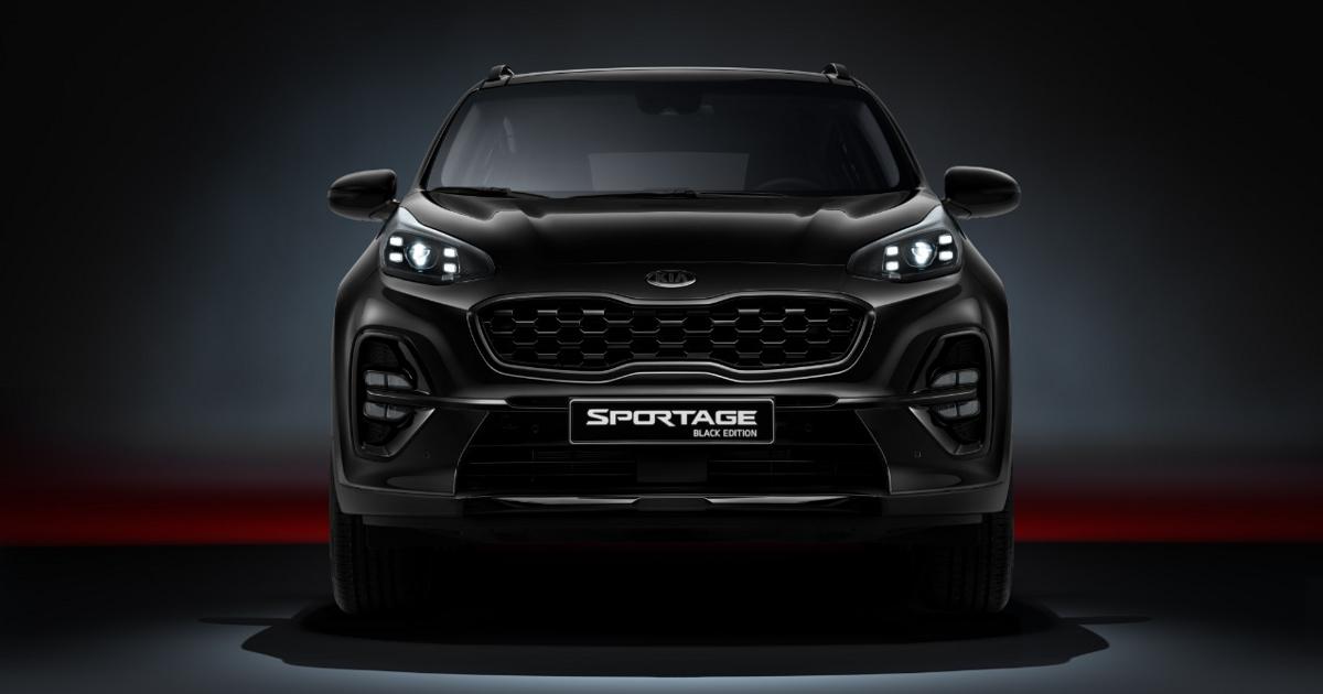 fpng - Kia Sportage получит «черную версию» в России - автоновости