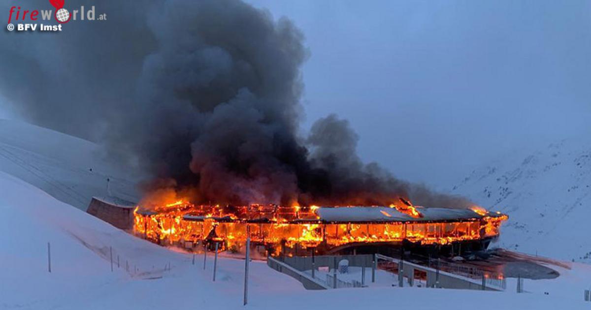 В Австрии сгорел крупнейший музей мотоциклов (видео) - автоновости