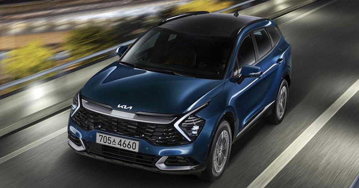 В Корее представили гибридный Kia Sportage - автоновости