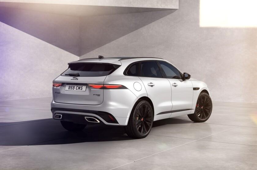Jaguar улучшил кроссовер F-Pace и анонсировал его новую версию - автоновости