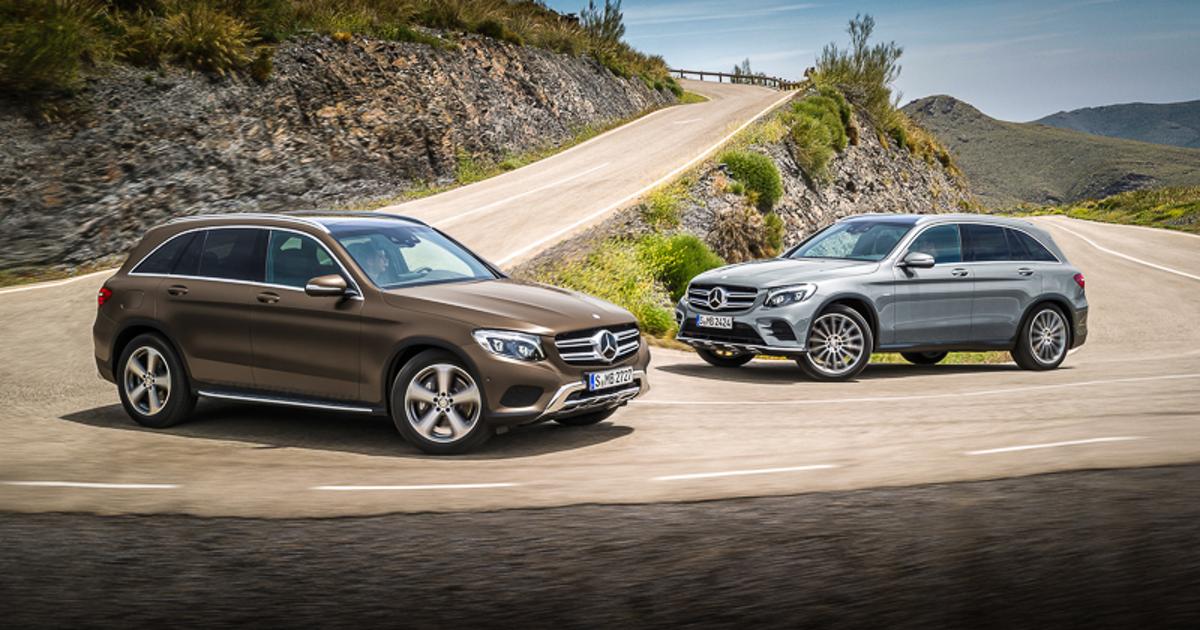 Один удар – четыре дырки. Что за кроссовер Mercedes-Benz GLC?