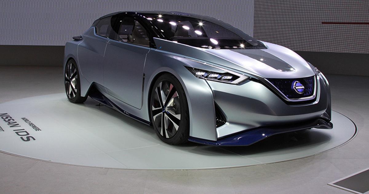 Nissan представил в Токио «умный» беспилотный автомобиль