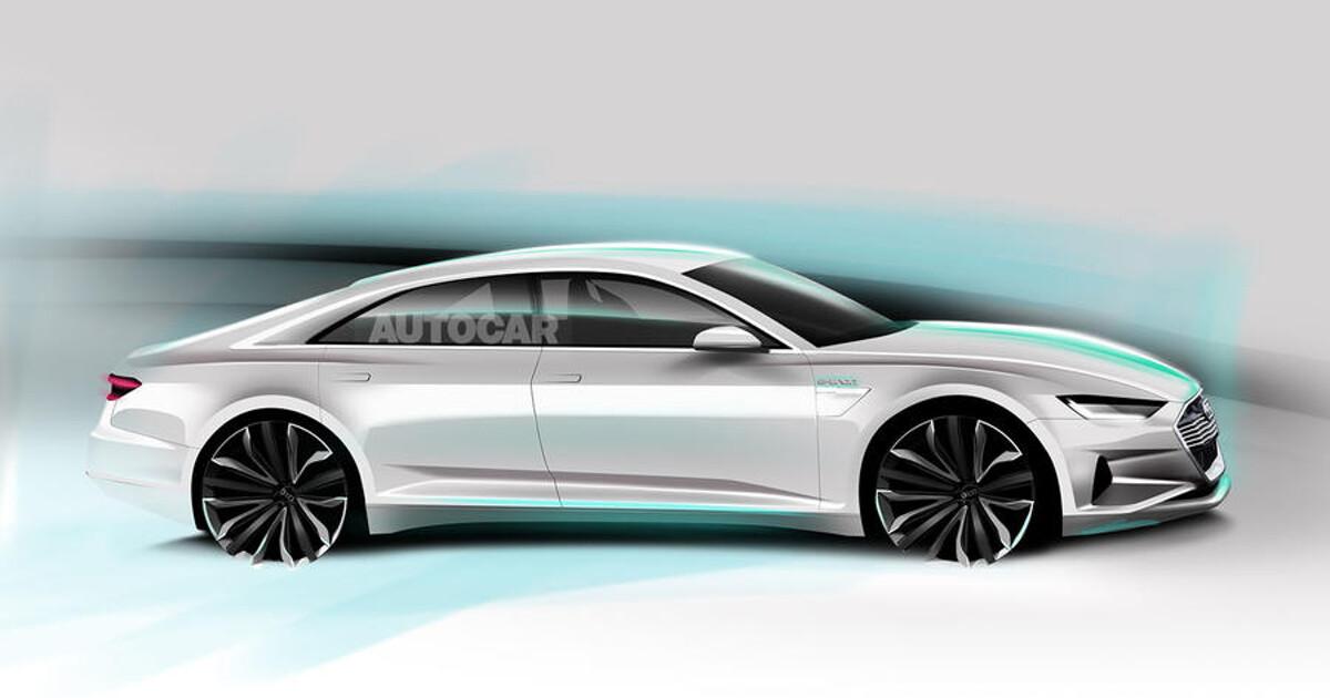 СМИ узнали подробности о флагманском электрокаре Audi