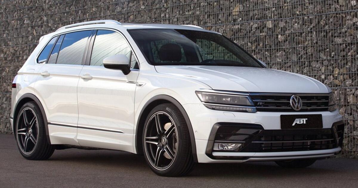 Немцы успели улучшить новый Volkswagen Tiguan